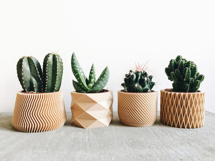 Set de 4 petits cache pots bois succulente cactus hygge design geometrique minimaliste scandinave cadeau pour elle mariage 5cd0291a 1024x768