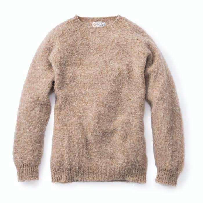 9wzor4wjfc shetland woollen company shaggy sweater sweaters 0 original