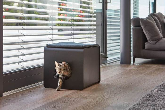 Furst chat cat relaxation litiere cabinet toilette sito 1 1024x1024