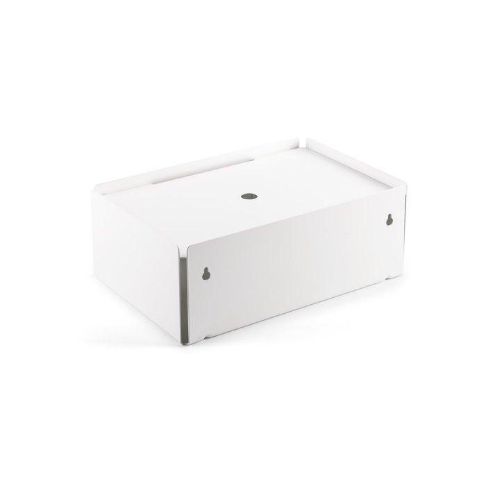 Charge box corpus blanc