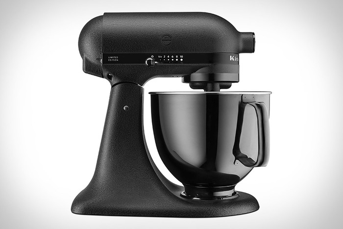 Kitchenaid black tie mixer