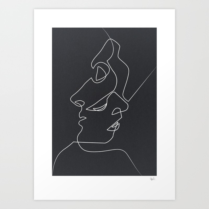 Close noir prints