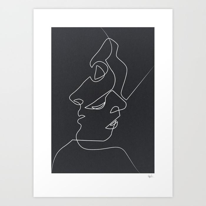 Close noir prints