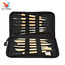 Thumb qstexpress hot sale 14pcs wooden metal pottery sculpture molding carving professional clay tool kit