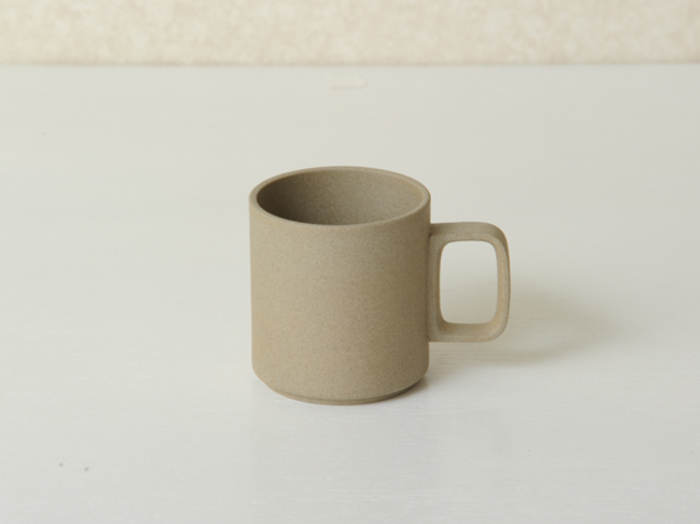 Hasami porcelain natural mug 85x89 hp020
