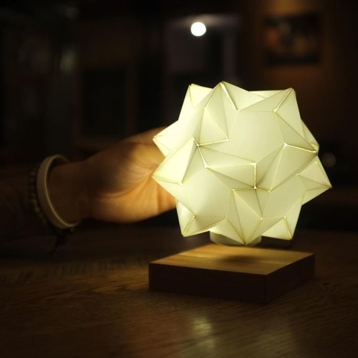 Glow is star shaped floating centerpiece light 2