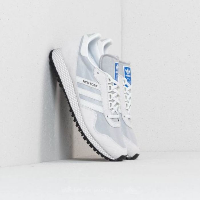 Adidas new york cry white off white grey two