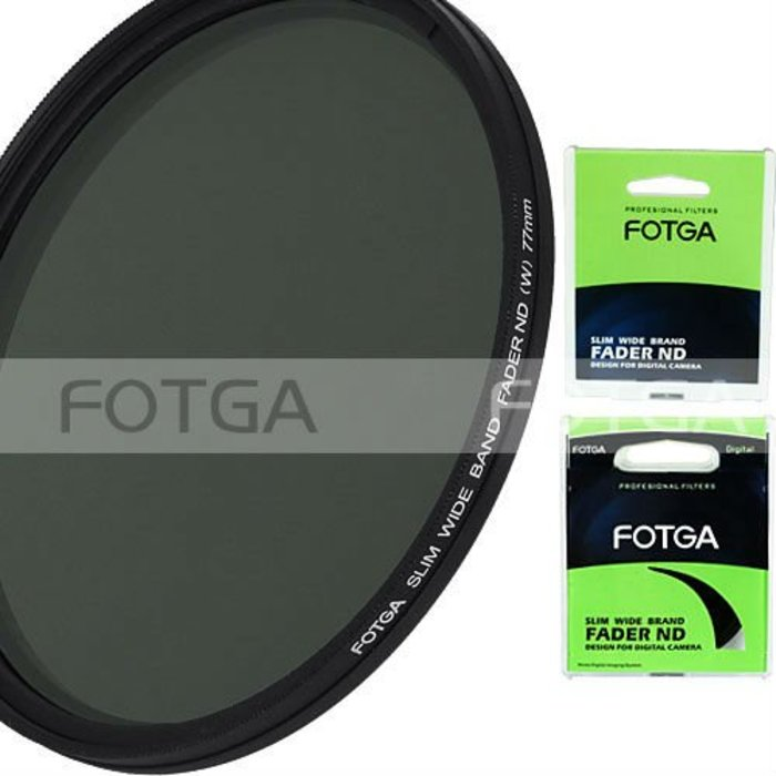 Fotga slim fader variabele verstelbare variabele nd filter nd2 om nd400 43 86mm 52 58 67