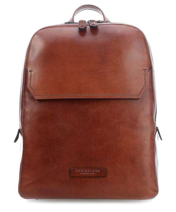 The bridge williamsburg backpack 14 dark brown 06140701 90 30