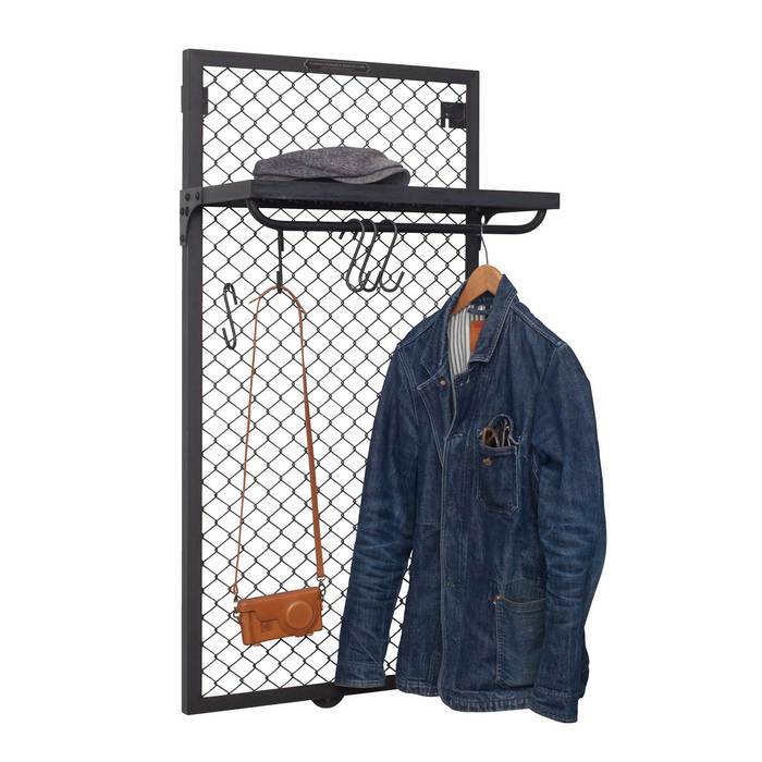 Wandgarderobe mesh authentic3
