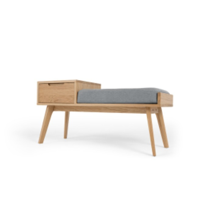 Jenson storage bench oak lb01
