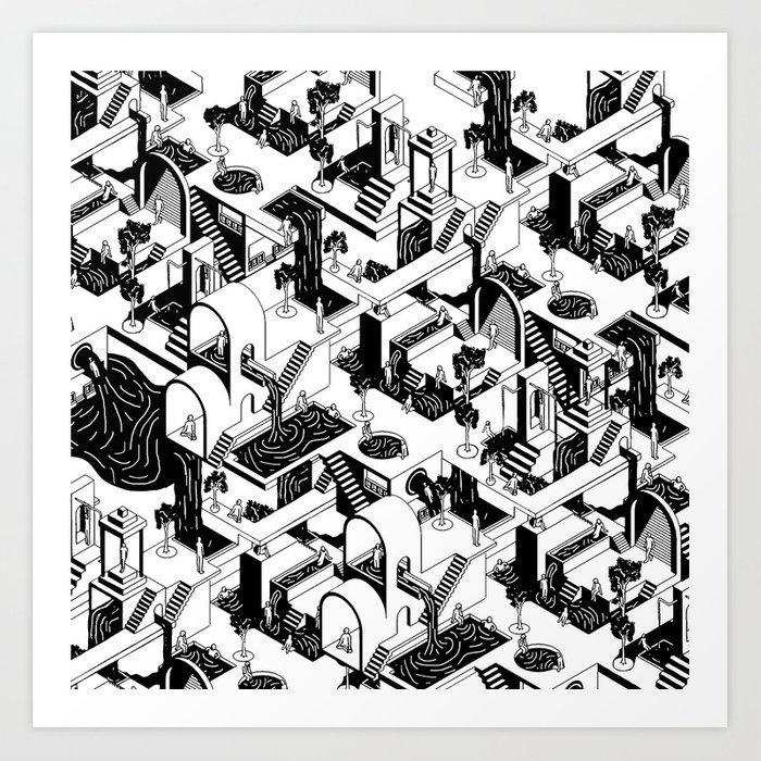City repeat prints
