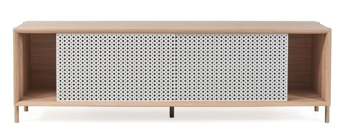 Gabin sideboard mg wo drawers light grey naturaloakfeet 1500
