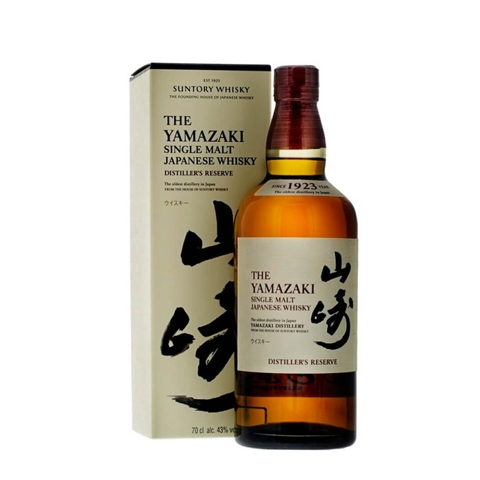 The yamazaki single malt whisky distiller s reserve 70cl 72dpi
