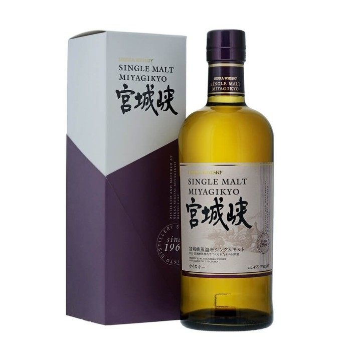 Miyagikyo single malt 70cl 45  72dpi