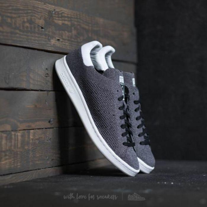 Adidas stan smith primeknit core black core black ftw white