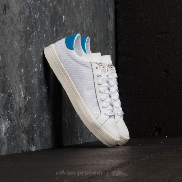Adidas courtvantage ftw white ftw white bright blue