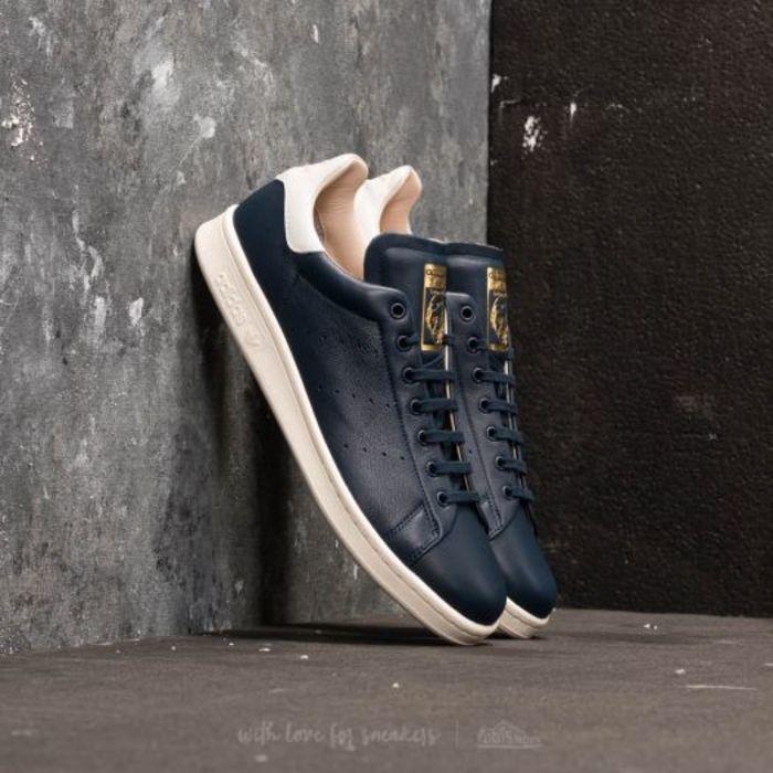 Adidas stan smith recon ftw white ftw white collegiate navy