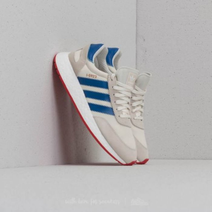 Adidas i 5923 off white blue core red