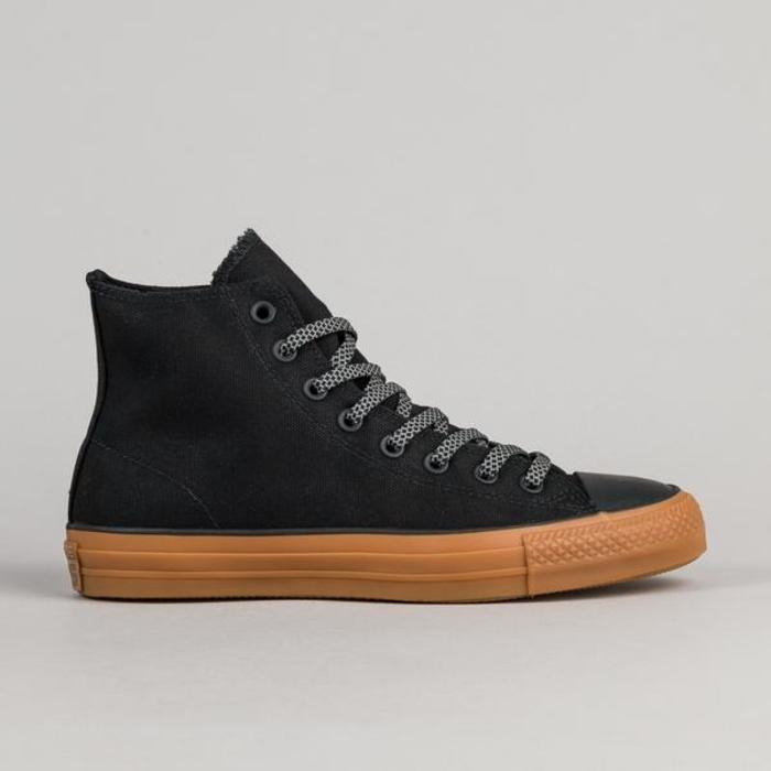 Converse ctas pro shield canvas hi shoes black black 1 grande