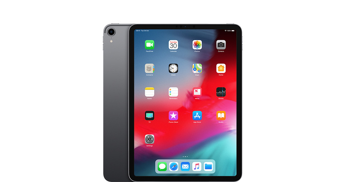 Ipad pro 11 select wifi spacegray 201810 geo gb