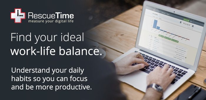 Rescuetime worklife balance
